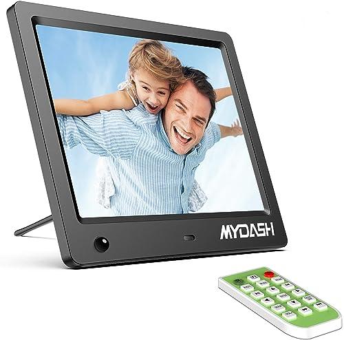 MYDASH Digital Photo Frame 8 Inch,Digital Picture Frame