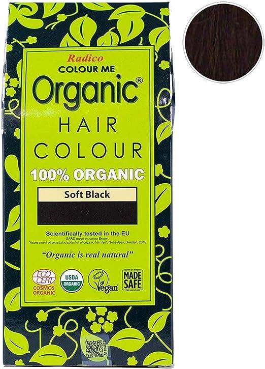 Radico Colour Me Organic (Soft Black) by Radico: Amazon.es ...