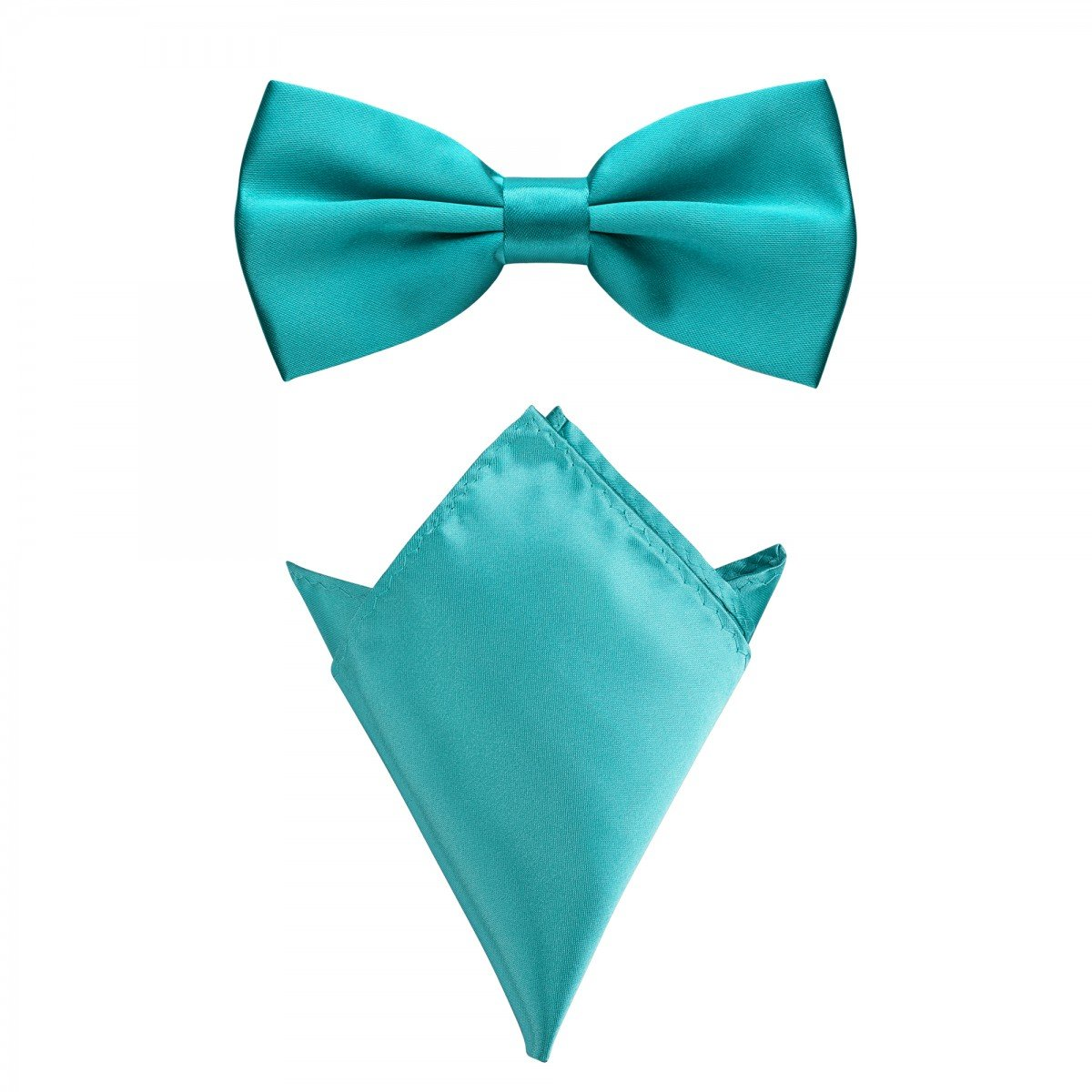 Rusty Bob - Vola con il fazzoletto in vari colori (fino a 48 cm circonferenza del collo) - per soddisfare, uno smoking - un insieme di 2