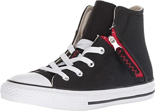 Image Unavailable. Image not available for. Color  Converse Kids  Chuck  Taylor All Star Pull-Zip High Top Sneaker ... fd3901f09
