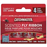 Catchmaster 9144M 4PK Scent Bug/Fly Catch, 1 Pack, Natural