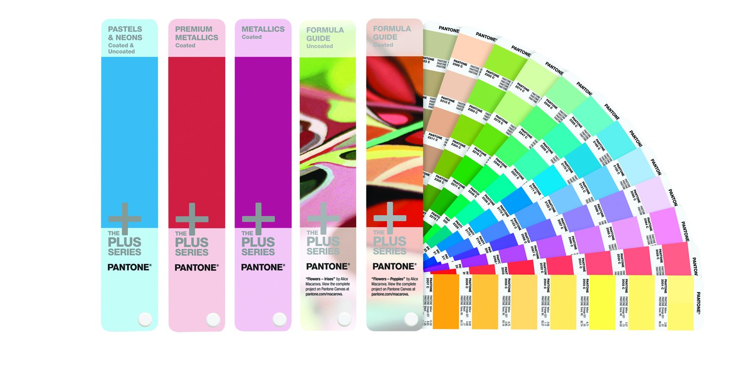 Pantone Solid Guide Set FG, Metallics, P und N, GP1605