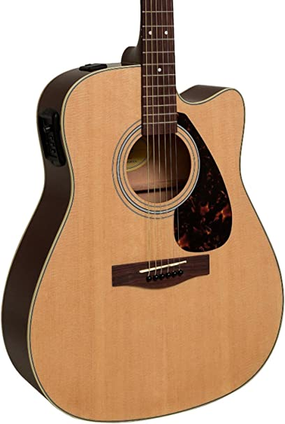 Yamaha fx335 C Dreadnought Guitarra Electroacústica Natural ...