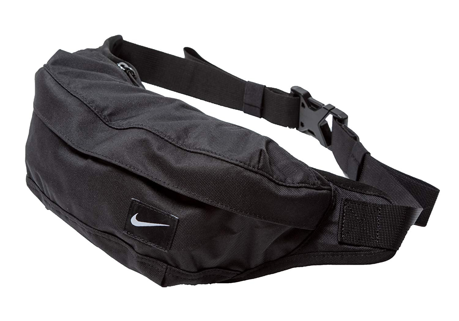 0cfa495cf5 Nike Black Bum Bag Cordura Fanny Pack Waist Pouch Travel Belt Wallet  45x14x8, 5cm: Amazon.co.uk: Shoes & Bags