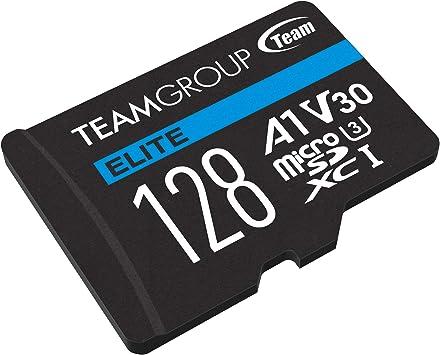 Flash Card Micro Sd 128gb Xc Team Elite A1 V30 Computer Zubehör