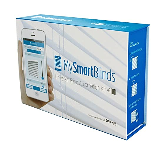 MySmartBlinds Automation Kit Motorized Blinds for iOS Devices, Turn Ordinary Blinds into Smart Home Blinds