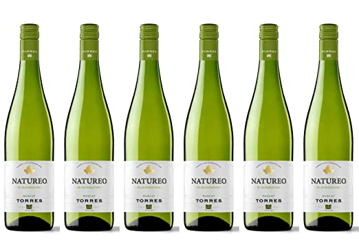 Torres Natureo De-alcoholised Wine Muscat 75 cl 2016/2017 (Case of 6)