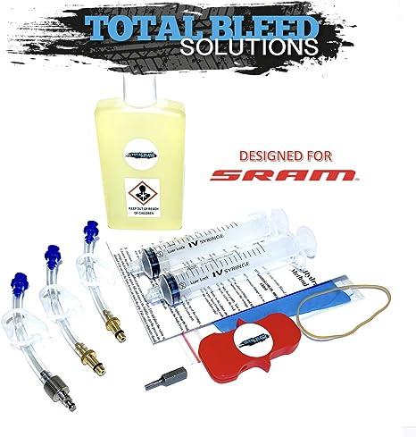 Total Bleed Solutions TBS SRAM Kit de Bicicleta de Carretera con ...
