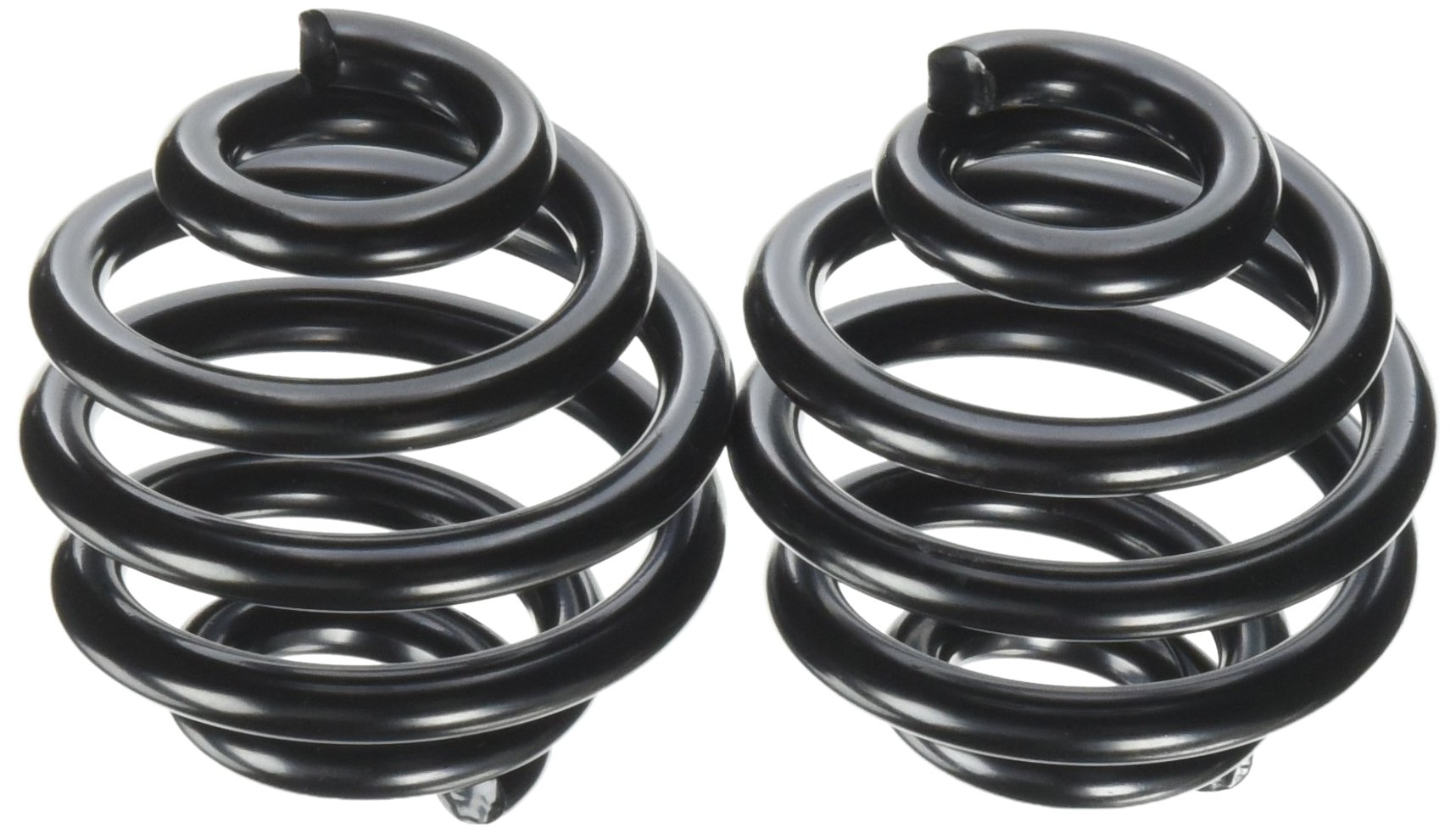 Lowbrow Customs 2739 Black 2'' Barrel Seat Spring (Perfect for Ironhead, Panhead, Shovelhead, or Custom Applications)