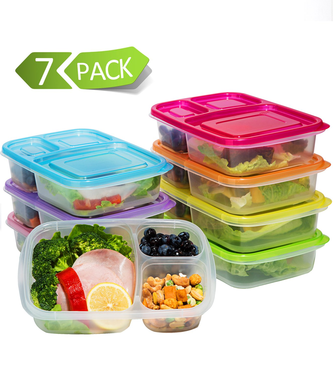 Top 20 Best Bento-Style Lunch Boxes for Kids 2017-2018 cover image
