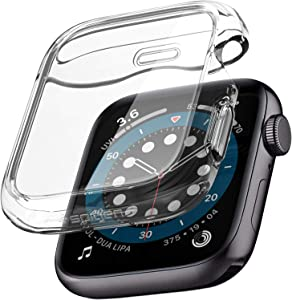 Spigen Ultra Hybrid Designed for Apple Watch Screen Protector Case for 40mm Series 6/SE/5/4 - Crystal Clear