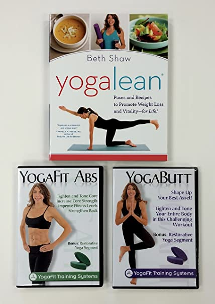 Amazon.com : Yoga Butt, Yoga Abs, and Yoga Lean Book Combo ...
