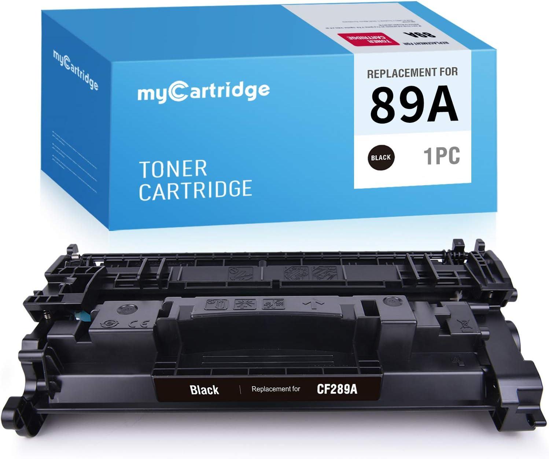 MYCARTRIDGE Compatible Toner Replacement for HP 89A CF289A to use with Laserjet Pro M507n M507dn M507X M507dng MFP M528dn M528f M528C M528Z (1-Black, No Chip)
