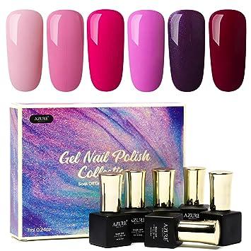 Bright Color Nail Collection Gel Nail Polish Set
