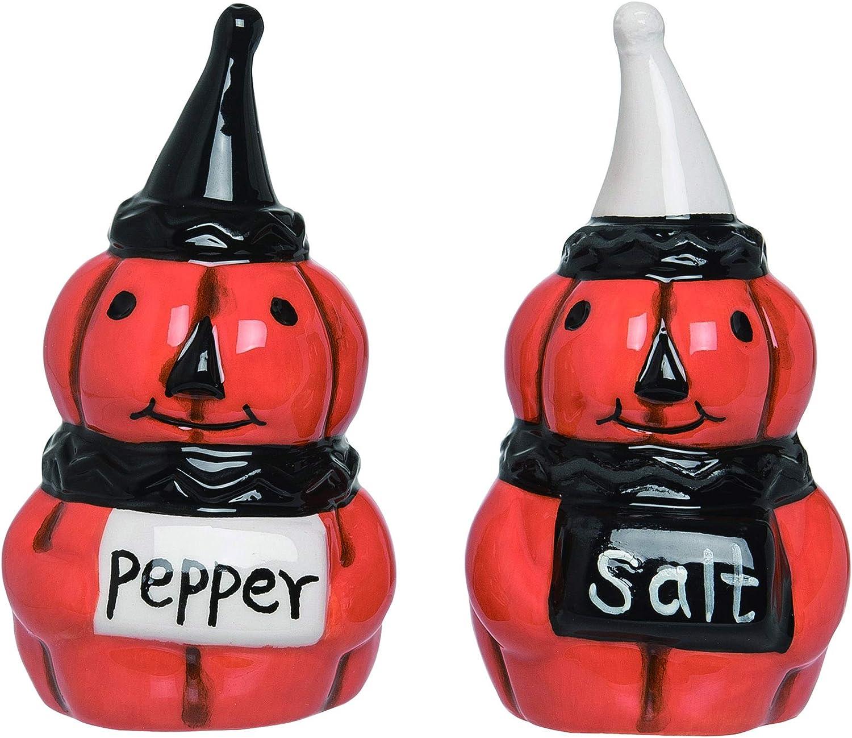 Jack O Lantern Salt and Pepper Shakers