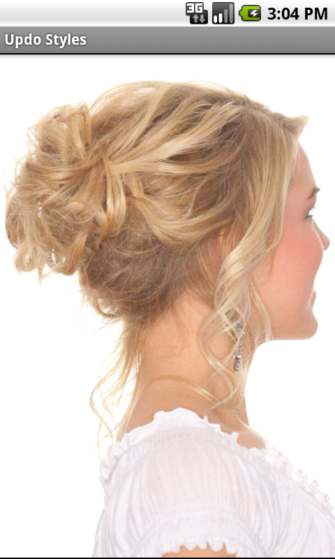 amazoncom updo styles hairstyles for weddings and