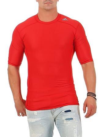 Compression Hombre Camiseta Climachill Techfit Rojo Adidas Función qwzI0Y