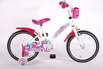 bicicleta niño de 16 pulgadas Kanzone ruedas canasta de 4 5 6 años ...