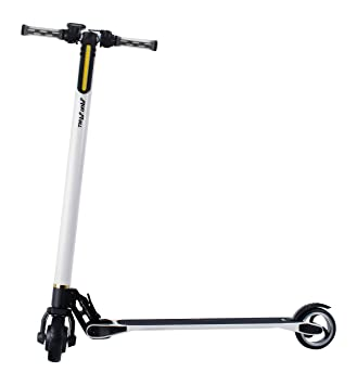 Run & Roll Scoot Carbono 360 Scooter eléctrico, Hombre, Blanco, 5
