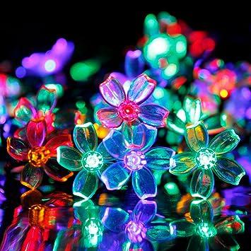 Solar Led String Lights Outdoor Amazing Amazon ADDLON Solar LED String Lights Solar Decorative