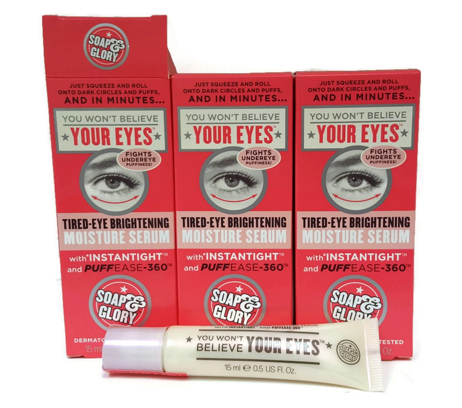 Amazon com: (3 PACK) Soap & Glory You Won't Believe Your Eyes Tired