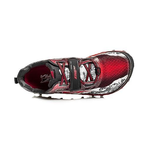 Altra - Zapatillas para Correr en montaña para Hombre Negro/Rojo 11 UK: Amazon.es: Zapatos y complementos