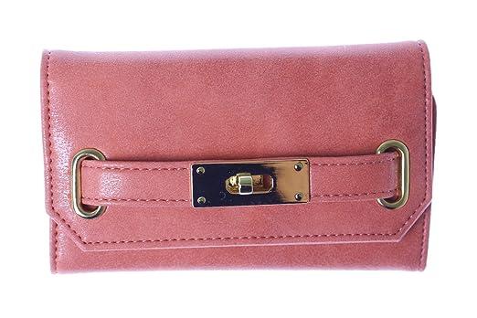 18998a43c2 Amazon.co.jp: iPhone アイフォン ケース 手帳型 ベルト付き カバー iPhone7 6 Fサイズ/ ピンク: 服&ファッション小物