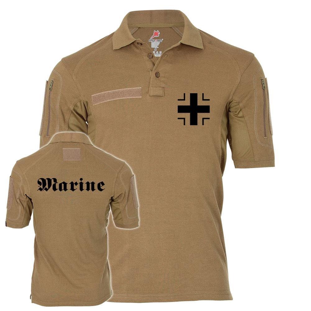 Tactical Poloshirt Alfa - Marine Balkenkreuz Teilstreitkraft Bundesmarine Soldat Einheit BW Deutschland  19460