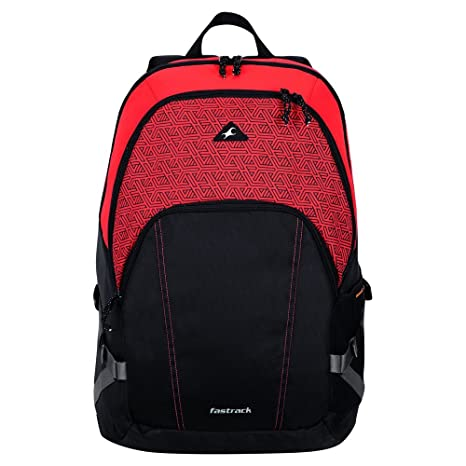 0a1e703026 Fastrack 30.57 Ltrs Red Casual Backpack (A0620NRD01)