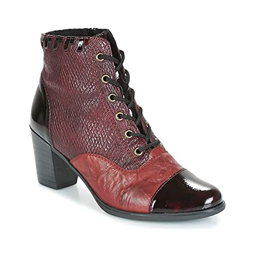 Rieker Damen Stiefeletten Ankle Boot in Bordo Y8938 35 rot 592753