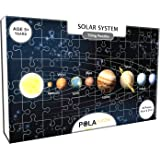 Pola Puzzles Solar System Tiling Puzzles 60 Pieces for Kids Age 5 Years and Above Multi Color Size 36CM X 21CM Jigsaw Puzzles for Kids