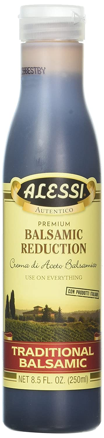 Amazon Com Alessi Balsamic Reduction 8 5 Ounce Pack Of 2 Grocery Gourmet Food