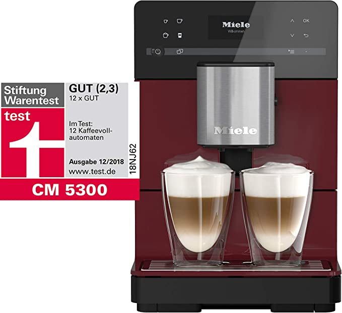 Miele Stand – Cafetera automática, 0.2 kg Brombeerrot: Amazon.es: Hogar