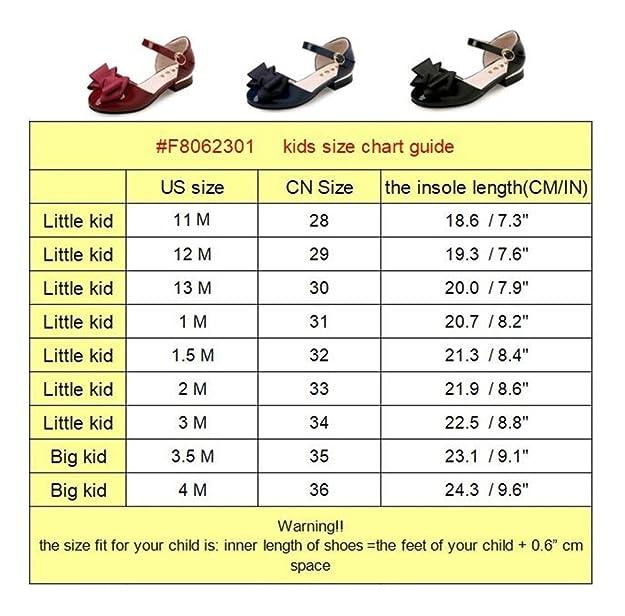 837b64d4b2 Flyrioc Little Girl's Heel Sandals Ballet Dress Shoes(Little Kid/Big Kid)