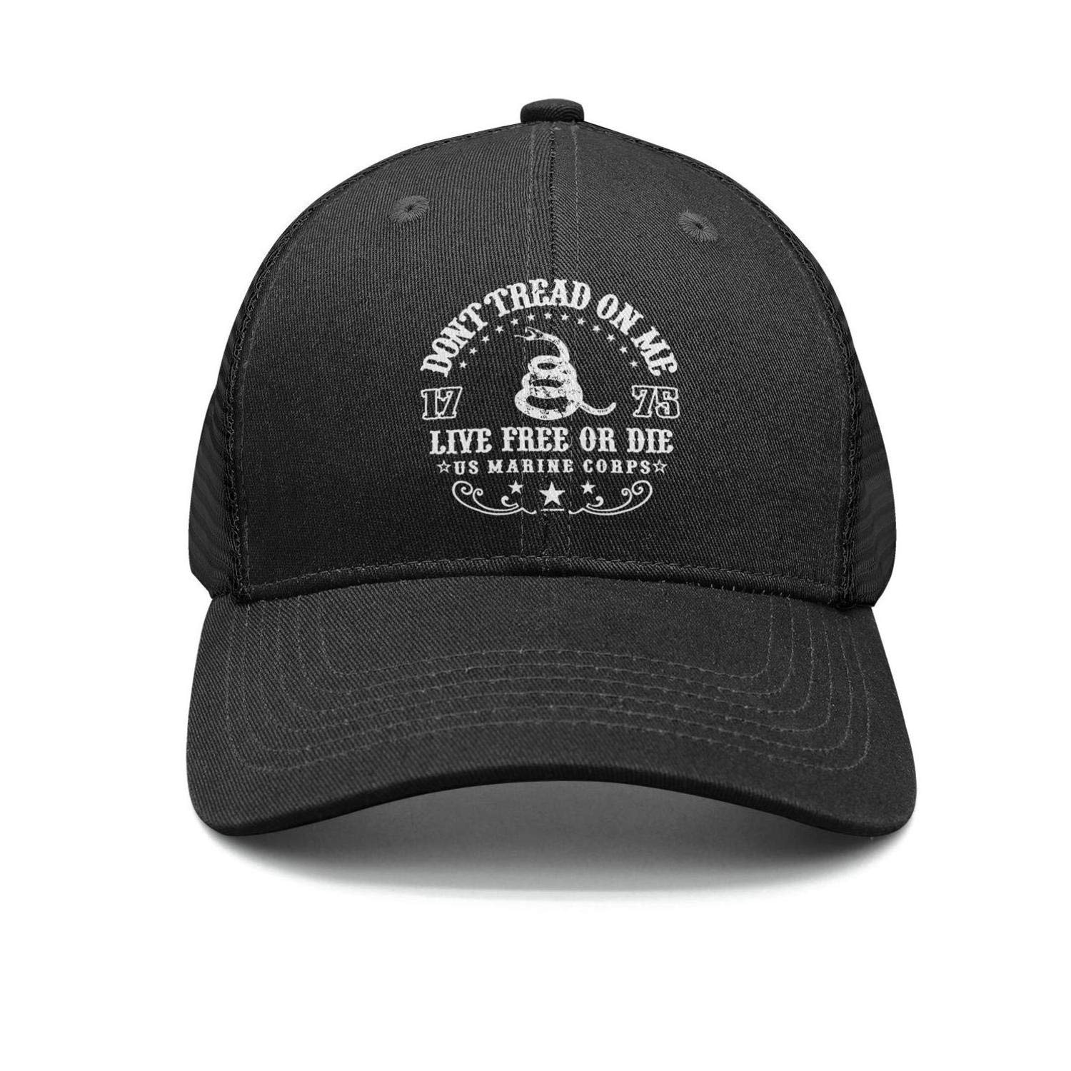 5ac5e5ef Adult Adjustable Baseball Cap Dont Tread On Me Classic Polo Style Baseball  Cap at Amazon Men's Clothing store: