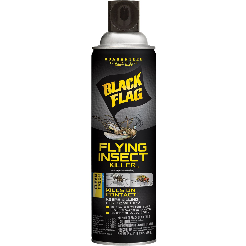 Black Flag Flying Insect Killer Aerosol Spray, 18 Ounce
