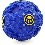 FurryFido Treat Dispensing Dog Toy, Smart Interactive IQ Ball (M)