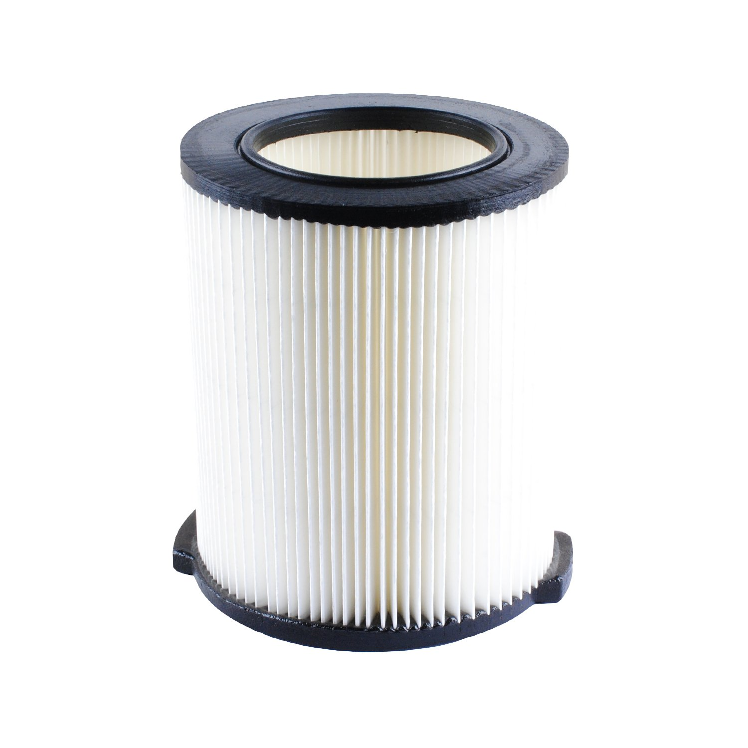 VF4000 Replacement Filter for Ridgid 72947 Wet Dry Vac 5 to 20-Gallon 6-9 Gal Husky Craftsman 17816 Vacuum Compatible WD5500 WD0671 RV2400A RV2600B Washable & Reusable Replace Ridgid VF4000 Filter by Poweka