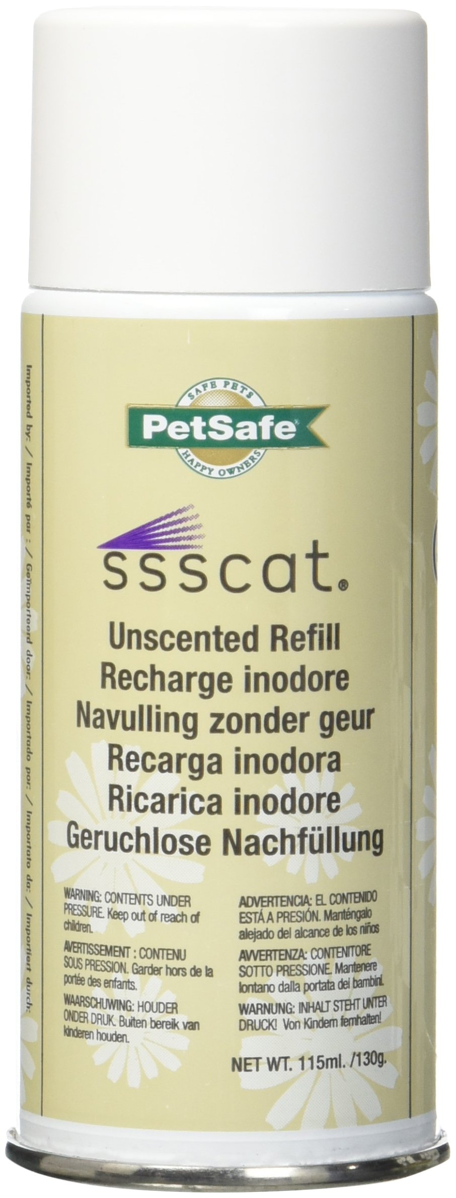 Petsafe Ssscat Repellent Deterrent Refills. 3 Pack.