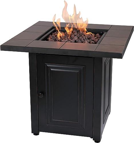 Endless Summer Vanderbilt LP Gas Outdoor Fire Pit Table