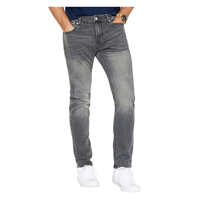 46060b9d Red Herring Men Grey Mid Wash Skinny Jeans: Red Herring: Amazon.co ...