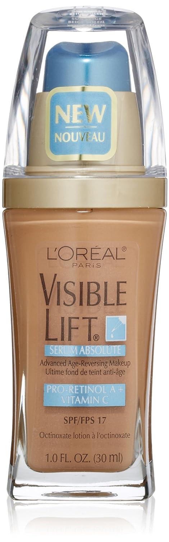 L'Oreal Paris Visible Lift Serum Absolute Foundation, Sun Beige, 1 Fl Oz (1 Count)