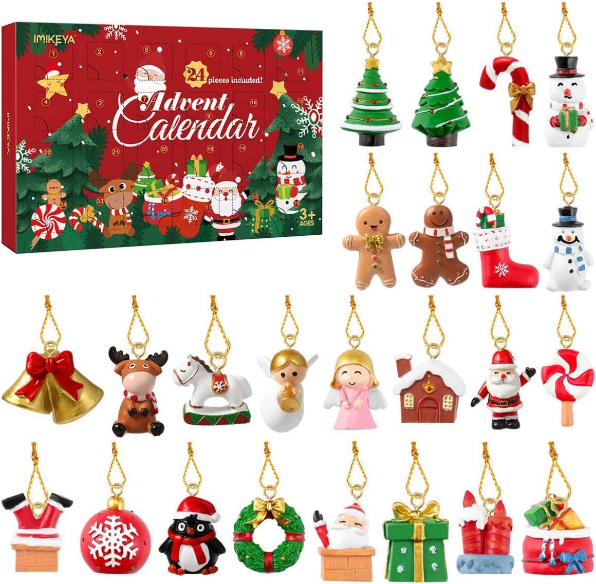 Artibetter クリスマス 吊り飾りセット アドベントカレンダー 24個セット