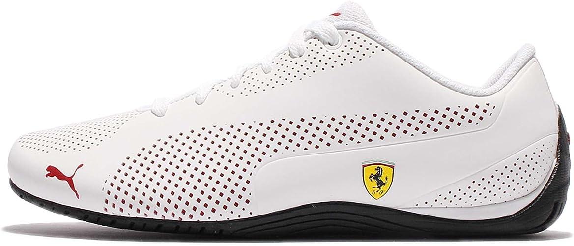 Puma Ferrari Drift Cat 5 Ultra Sneaker Weiß Weiß Größe 39 Eu Amazon De Schuhe Handtaschen