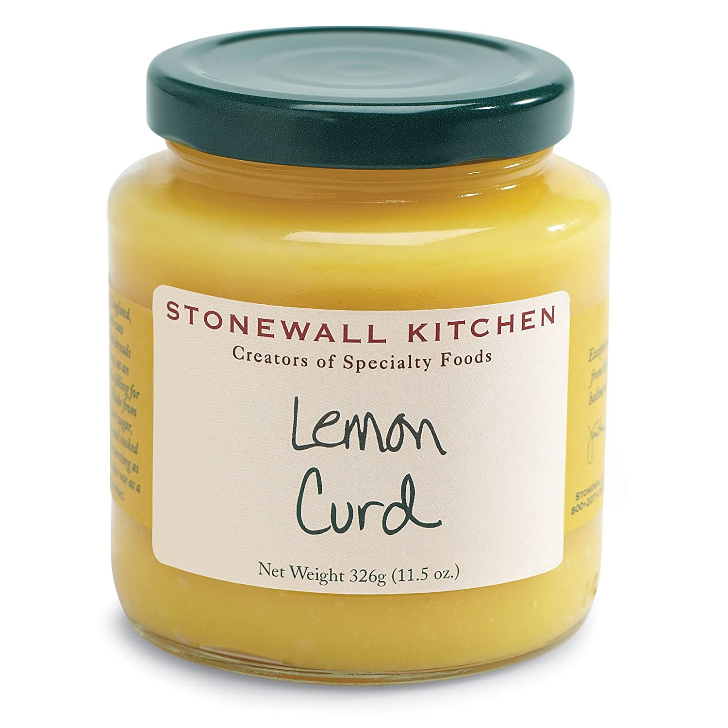 Stonewall Kitchen Curd Lemon 115 Ounce Amazoncom Grocery