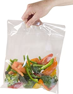 Toastabags Microwave steam (Pack of 100) Standard Bags, Transparent