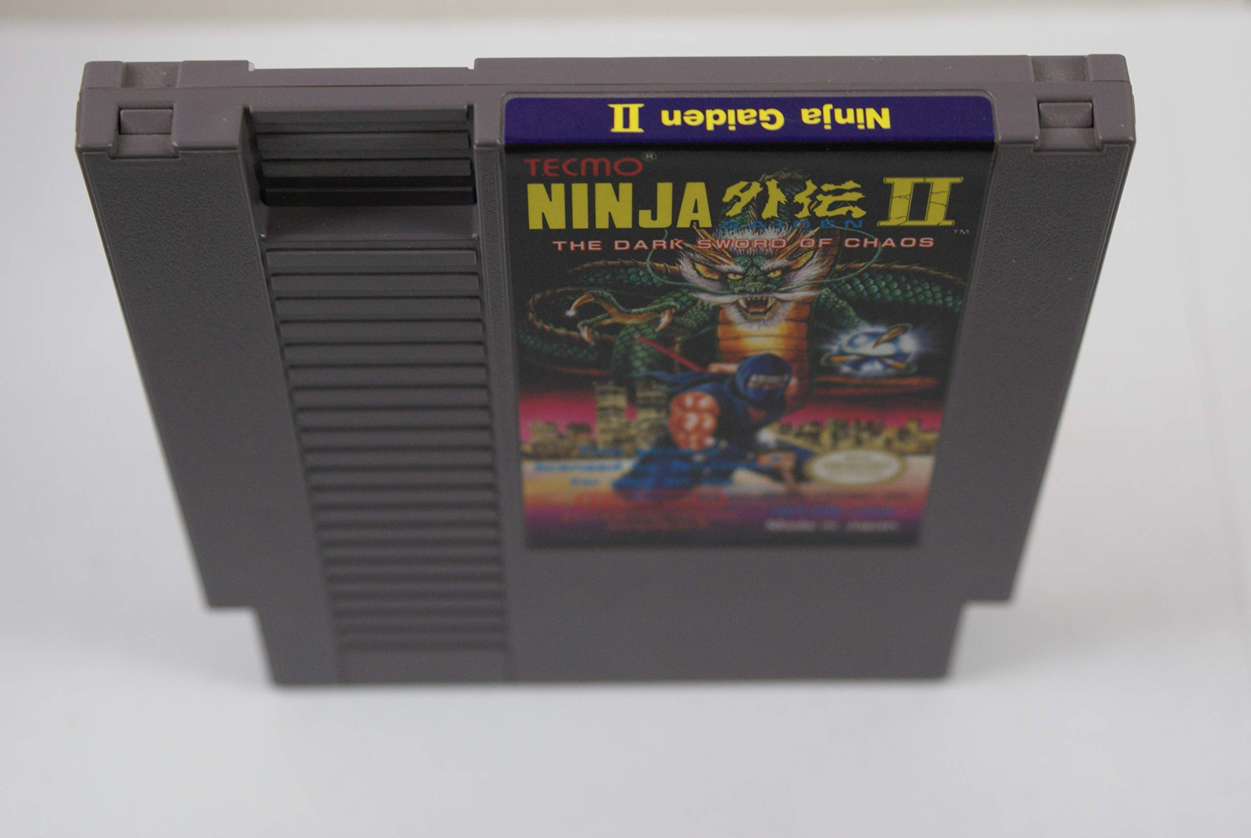 Amazon.com: NES Ninja Gaiden II Video Game USED (Certified ...
