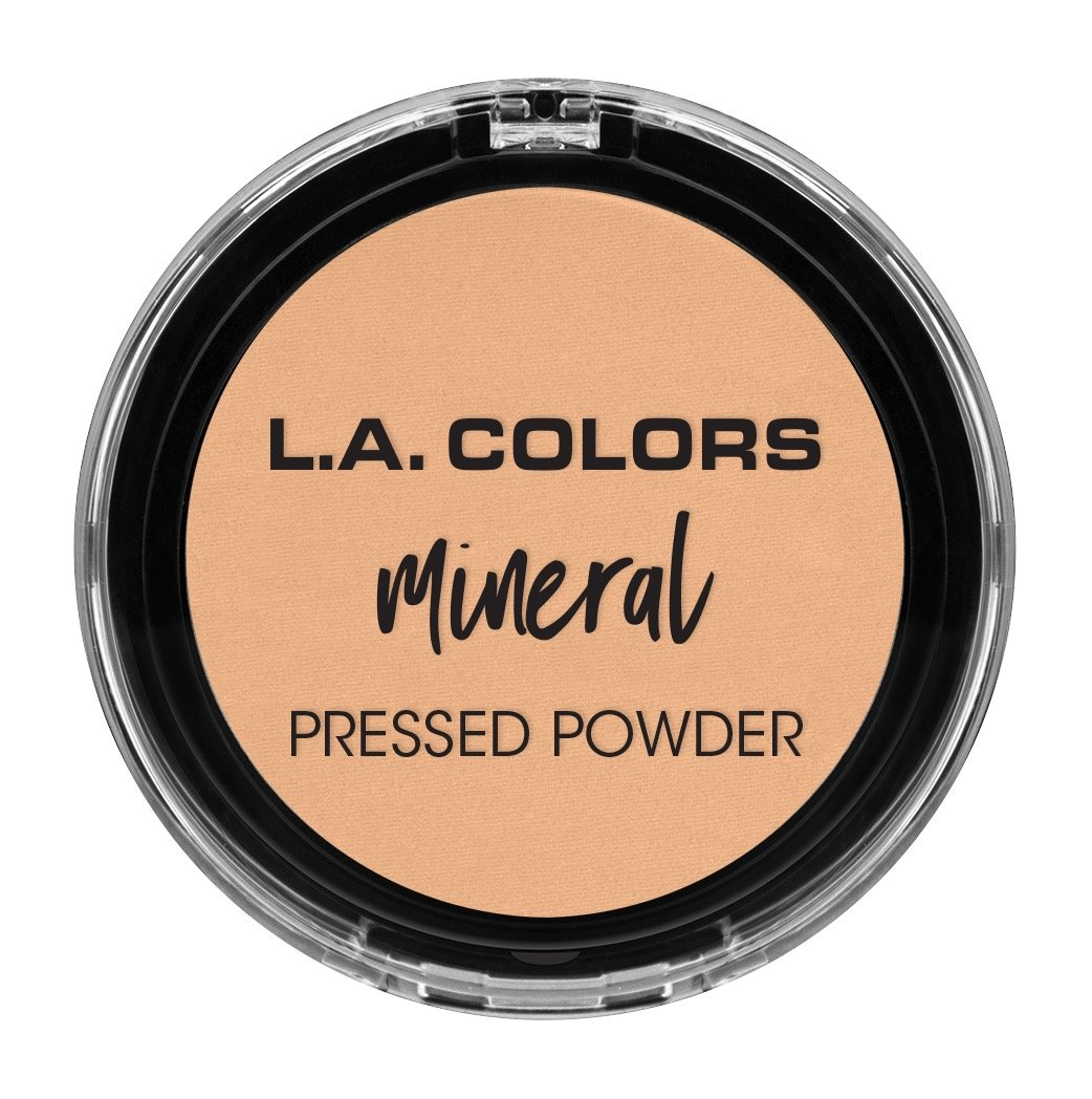 L.A. COLORS Mineral Pressed Powder, Creamy Natural, 1 Ounce