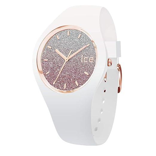Ice-Watch Reloj Analógico para Mujer de Automático con Correa en Silicona IC013431: Amazon.es: Relojes