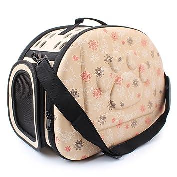 Pyrus - Transportín para mascota, goma EVA, portátil, plegable y cómodo, apto para viajar en avión: Amazon.es: Productos para mascotas